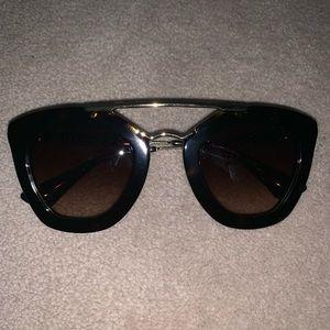 Prada Havana Cat Eye sunglasses